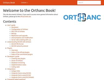 book.orthanc-server.com screenshot