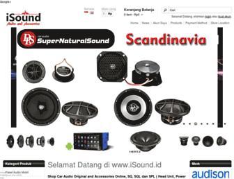 isound.id screenshot
