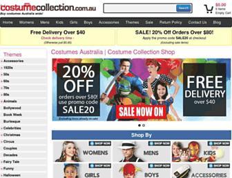 Thumbshot of Costumecollection.com.au