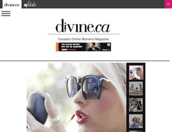 Thumbshot of Divine.ca