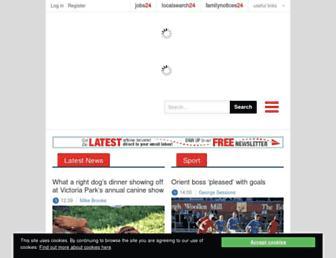 Thumbshot of Eastlondonadvertiser.co.uk