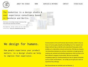 thegeekettez.com screenshot