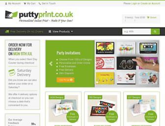 puttyprint.co.uk screenshot