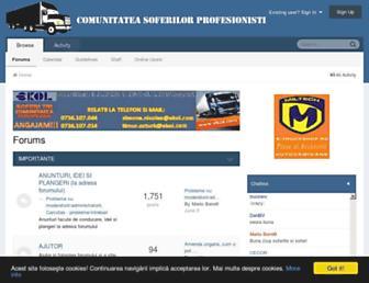 forums.soferii.ro screenshot