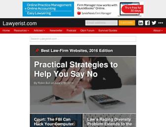lawyerist.com screenshot
