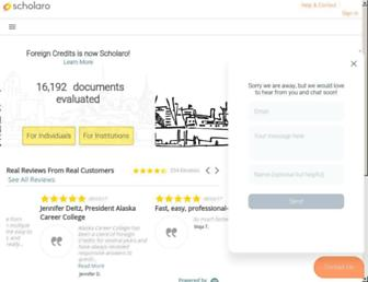 scholaro.com screenshot