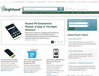 brighthand.com screenshot
