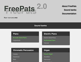 freepats.zenvoid.org screenshot