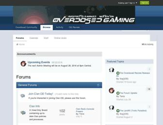 forum.overdosed.net screenshot