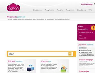Thumbshot of Gizlen.net