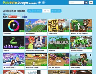 paisdelosjuegos.com.do screenshot