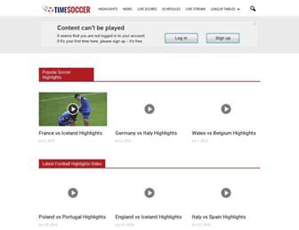 timesoccer.com screenshot