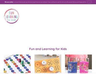 funlearningforkids.com screenshot
