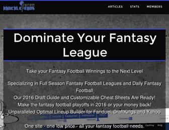 Thumbshot of Fantasyknuckleheads.com