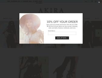 Thumbshot of Shopakira.com