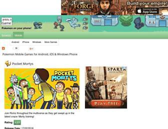 Thumbshot of Pokemontowerdefense2game.com