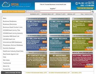 Thumbshot of Specialdatabases.com
