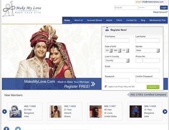 Thumbshot of Makemylove.com