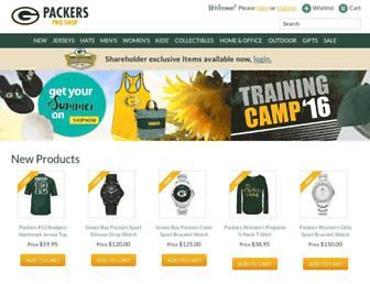 Thumbshot of Packersproshop.com