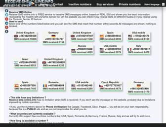 receive-sms-online.info screenshot