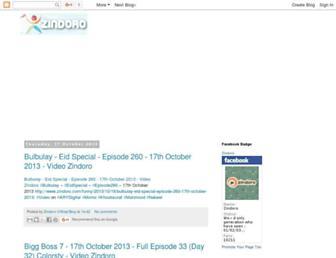 zindoro.blogspot.com screenshot