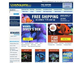 Thumbshot of Liveaquaria.com