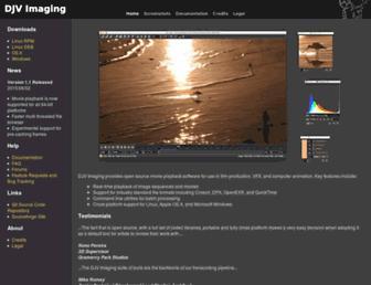djv.sourceforge.net screenshot