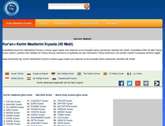 Thumbshot of Kuranmeali.org