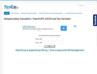 payroll.my screenshot