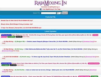 rajamixing.in screenshot