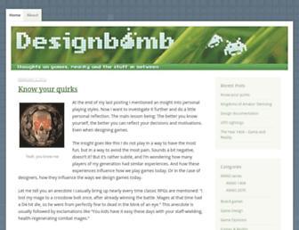 designbomb.net screenshot