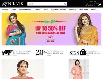 nikvik.com screenshot