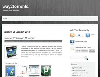 way2torrents.blogspot.com screenshot