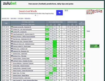 zulubet.com screenshot