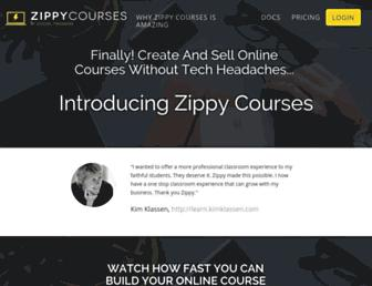 zippycourses.com screenshot