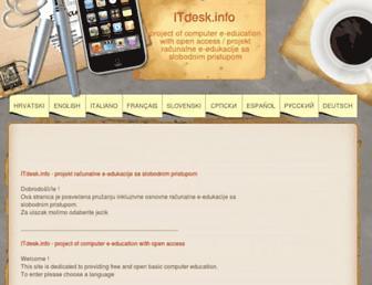 itdesk.info screenshot