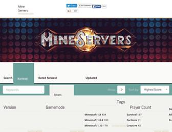 Thumbshot of Mineservers.com