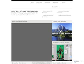 makingvisualnarratives.com screenshot