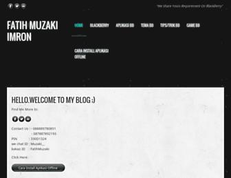 fatihmuzaki.weebly.com screenshot