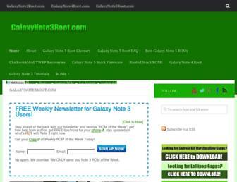 Thumbshot of Galaxynote3root.com