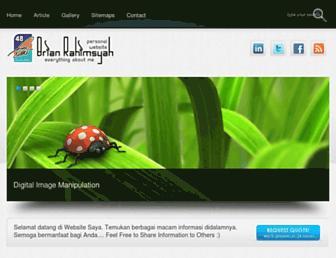 brianrahimsyah.com screenshot