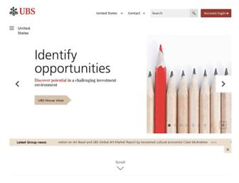 Thumbshot of Ubs.com