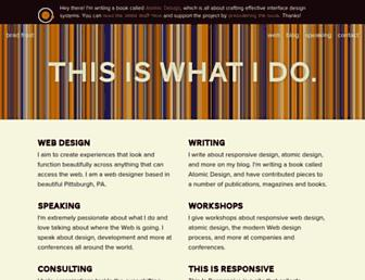 Thumbshot of Bradfrostweb.com