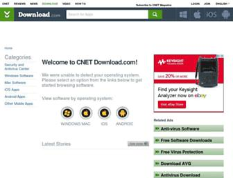 m.download.cnet.com screenshot