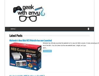 geekwithenvy.com screenshot