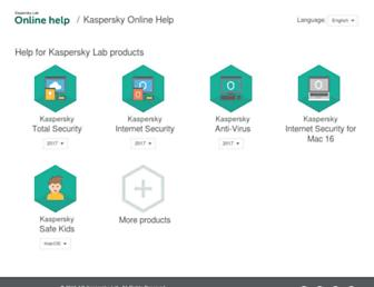 help.kaspersky.com screenshot
