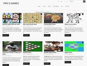 friv3com.blogspot.com screenshot