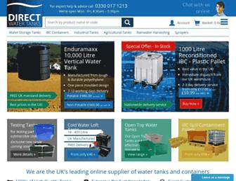 directwatertanks.co.uk screenshot