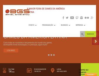 Thumbshot of Brasilgameshow.com.br