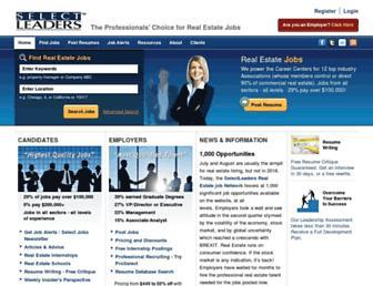 selectleaders.com screenshot